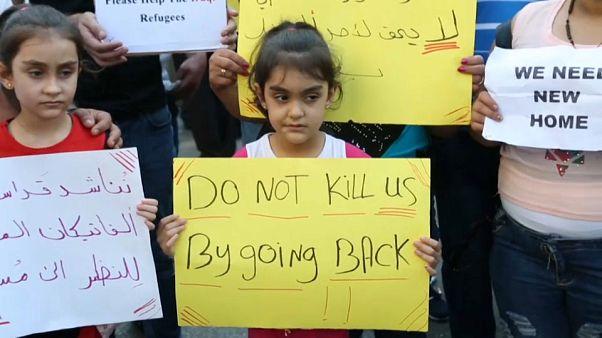 مسيحيو العراق في لبنان يرفضون العودة إلى بلادهم