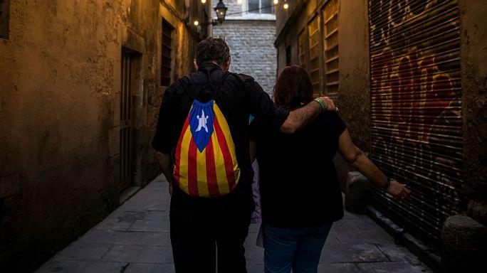 Bizonytalanok az emberek Barcelonában
