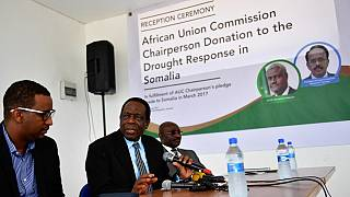 AU's pledge of $100,000 relief items to Somalia in March just got delivered