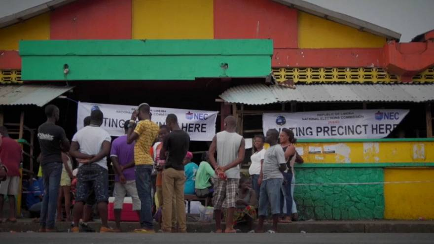 Liberia braces for election results, opposition party cries foul