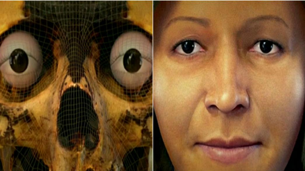 Ancient Caral woman's face reconstructed in 3D