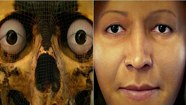 تصویری سه بعدی از زنی اشرافزاده مربوط به ۷ هزار سال پیش