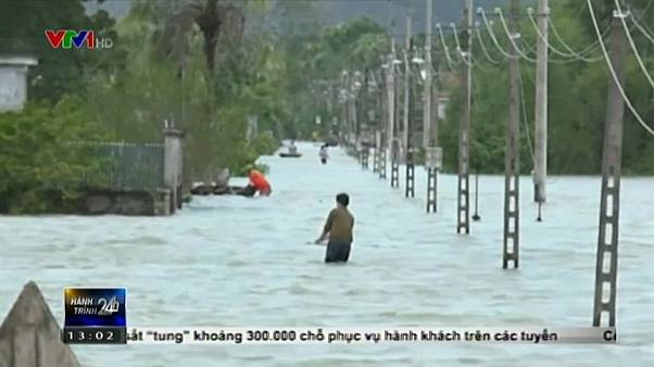 Thousands evacuated as floods and landslides sow death in Vietnam