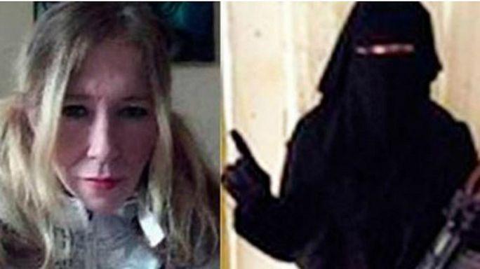 """مقتل """"ارملة داعش البيضاء"""" وابنها في غارة جوية"""