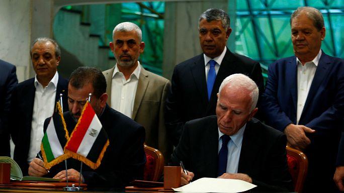 Békét köt a Hamász és a Fatah
