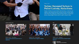 İnsan Hakları İzleme Örgütü Türkiye raporu: Gözaltında işkence ve insan kaçırma