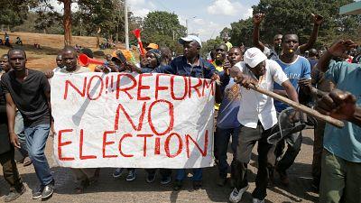 Kenya parliament passes controversial election law amendment