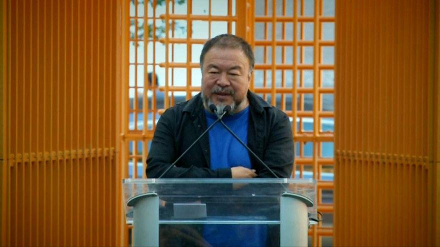 Weiwei presenta varios montajes contra la intolerancia en Nueva York