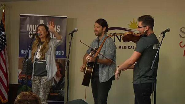 Λας Βέγκας: «Η μουσική θεραπεύει»