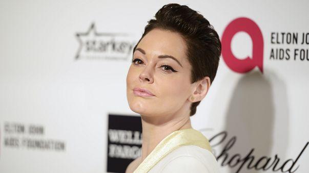 """حظر ممثلة أمريكية على """"تويتر"""" على خلفية فضيحة هوليوود الجنسية"""