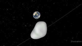 كويكب يمر بالقرب من الأرض