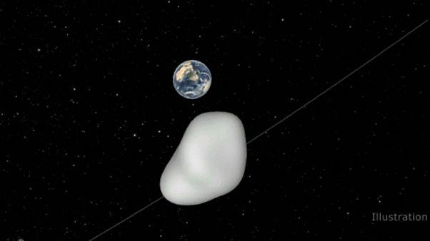 سیارک «۲۰۱۲-TC4» فرصتی تازه برای ستاره شناسان فراهم کرد