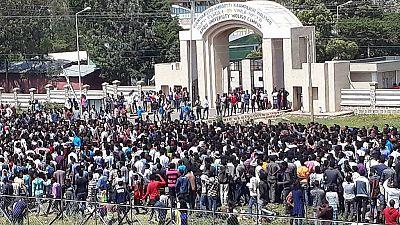 [Photos] Massive anti-govt protest in Ethiopia's Oromia state
