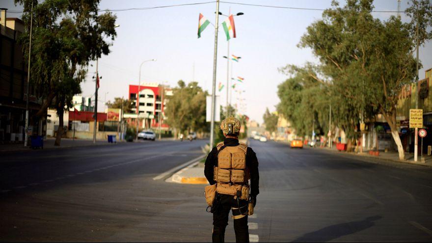 نیروهای کُرد برای مدت کوتاهی جاده اربیل-موصل را مسدود کردند