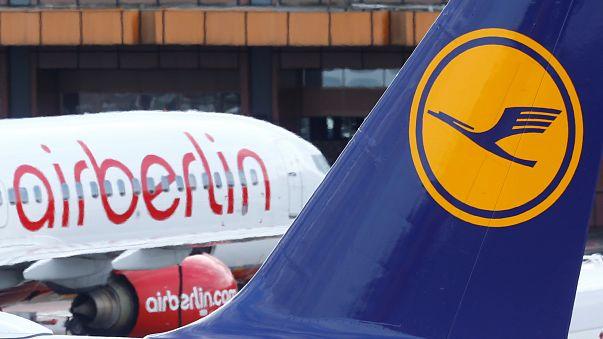 Η Lufthansa θα εξαγοράσει μέρος της Air Berlin