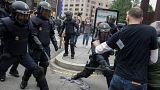 HRW denuncia que la policía hizo uso excesivo de la fuerza en Cataluña