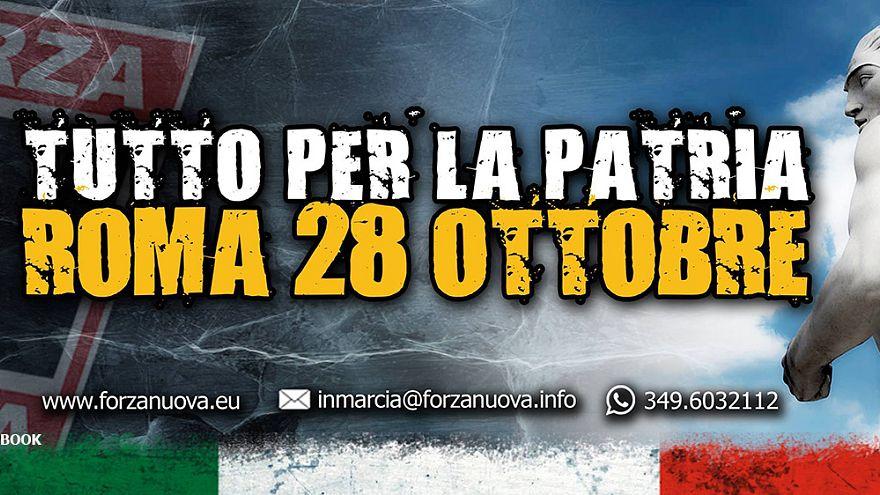 Ο «Ντούτσε» ξαναβάζει τη στολή του - Φασιστική πορεία στη Ρώμη την 28η Οκτωβρίου!