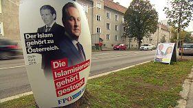 Austria se prepara para la presumible victoria de Sebastian Kurz