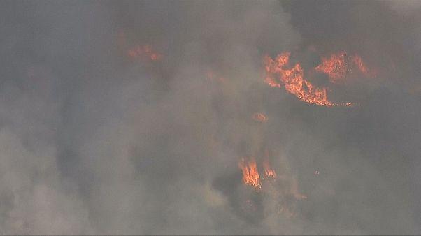 Califórnia enfrenta os incêndios mais mortíferos na história