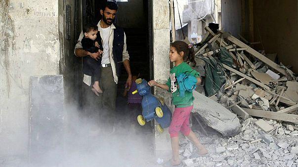 مصر وروسيا ترعيان وقفا جديدا لإطلاق النار قرب دمشق