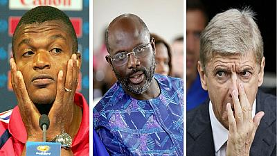 Liberia polls: Wenger, Desailly flagged 'offside' over Weah congrats