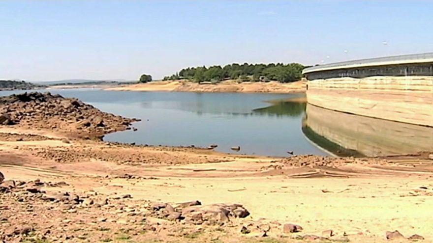 La reserva hidráulica española, en situación de emergencia