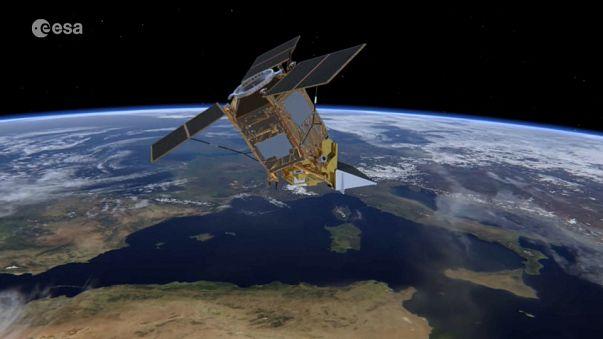 Satélite Sentinel-5P em contagem decrescente