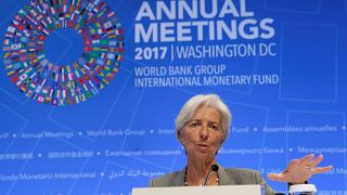 Global economy looking good says IMF chief