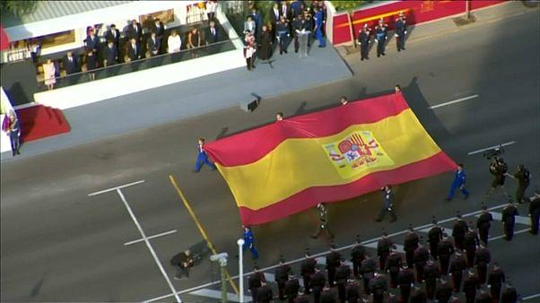عرض عسكري بمناسبة اليوم الوطني لإسبانيا