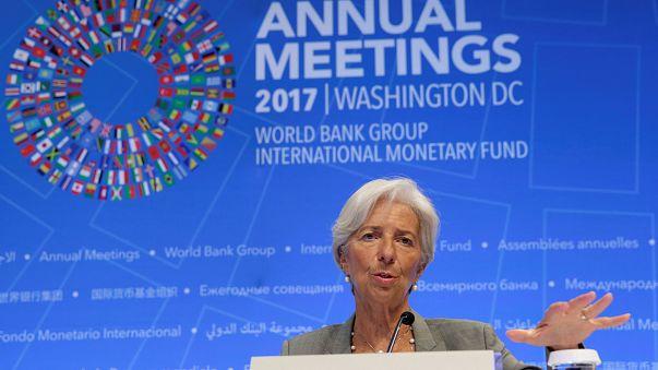 Jó évre számít az IMF vezetője