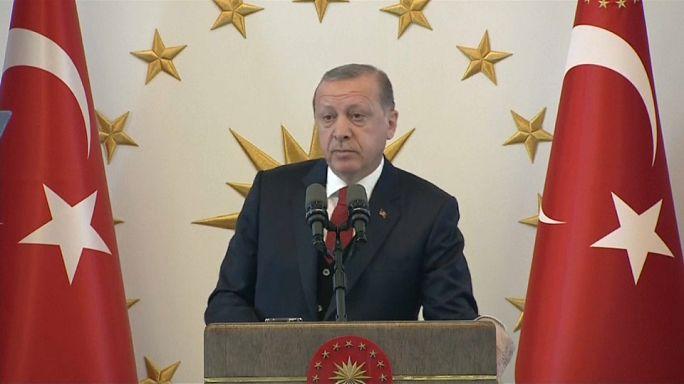 Erdoğan vize krizinde sert çıktı