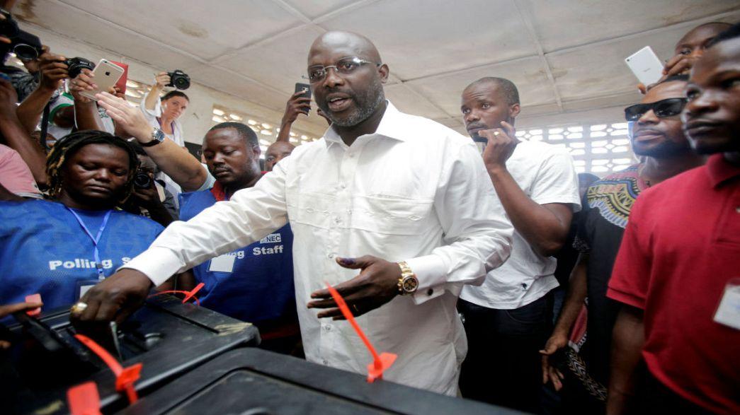جورج ويا ينتقل الى الدورة الثانية من الانتخابات الرئاسية في ليبيريا