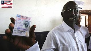 Weah takes lead as less than half of Liberia's election results emerge