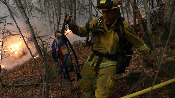 California wildfires: fears for missing mount as death toll climbs