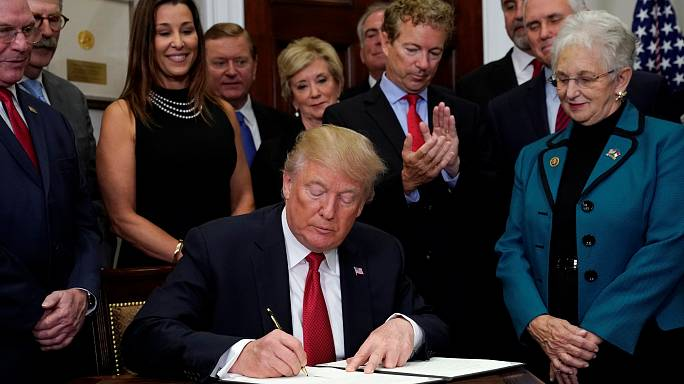 Trump attacks Obamacare with executive order