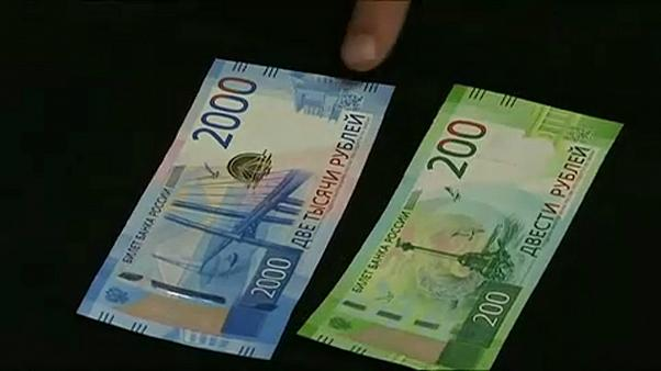 Rusya Kırım'a para bastı
