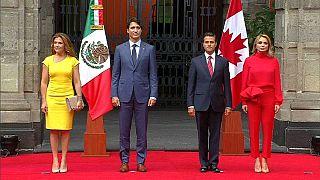 México y Canadá reiteran su compromiso para renegociar el NAFTA