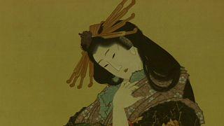 La ola y los montes Fuji de Hokusai, en Roma