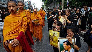 Aniversário da morte do rei Bhumibol da Tailândia