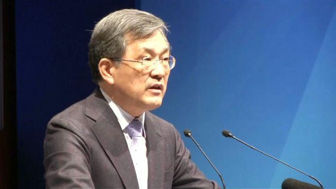 Samsung : bénéfice record et démission du PDG
