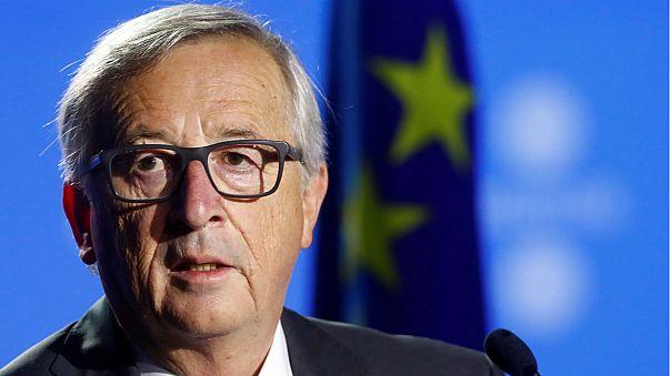 Juncker: l'Europa non può fare da mediatore in Catalogna