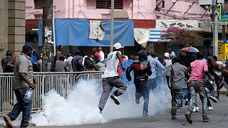 [Photos] Opposition protesters teargassed by Kenya police in 3 cities