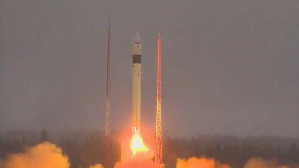 Плесецк: евроспутник запущен