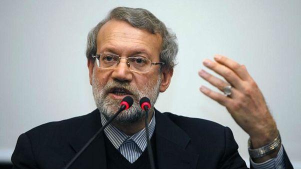 رئيس البرلمان الإيراني: انسحاب أمريكا من الاتفاق النووي يعني انهياره