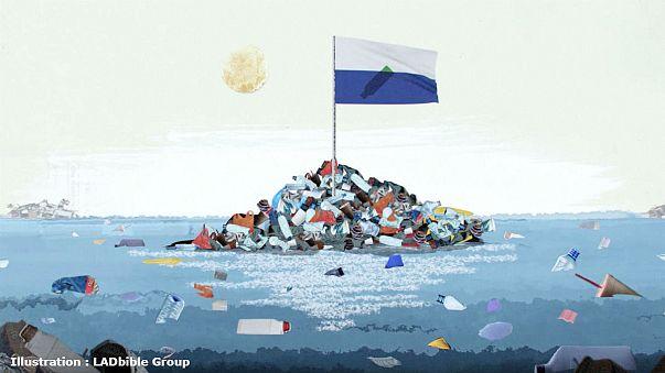 Müll-Inseln im Pazifik: Bald 196. UN-Mitglied?