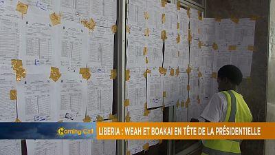 Liberia-présidentielle : George Weah et Boakai mènent le peloton