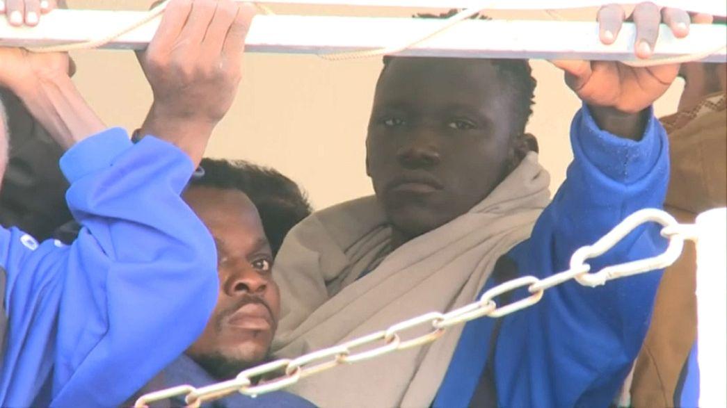 Ливия: мигранты снова поплыли в Европу