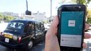 Uber recurre a la justicia británica para volver a operar en Londres