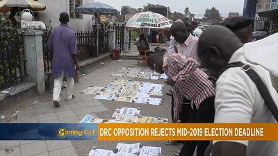 RDC : pas d'élection avant 2019