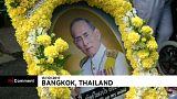 Último adeus da Tailândia ao rei Bhumibol